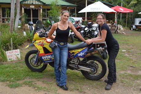 Female Bikers Growing In Numbers